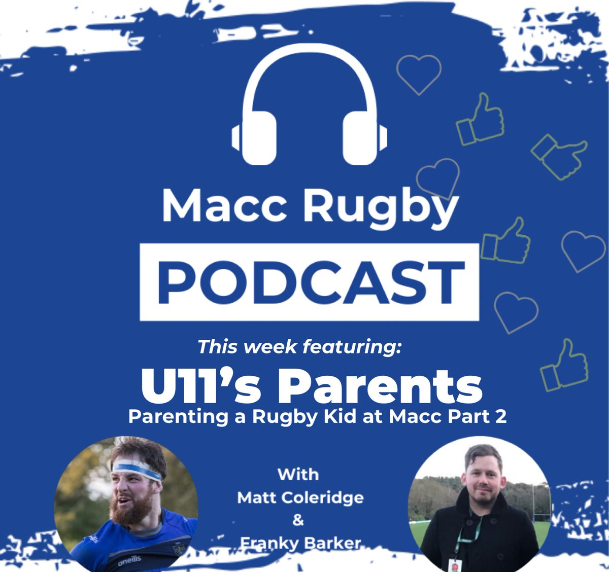 test Twitter Media - If you haven't listened to the latest episode of the #maccrugbypod yet make sure you do!! This week we caught up with the parents of the u11's and heard about how they enjoy seeing their kids enjoying rugby!! Subscribe wherever you get your pods to never miss an episode!! https://t.co/Ay1fYgqJta