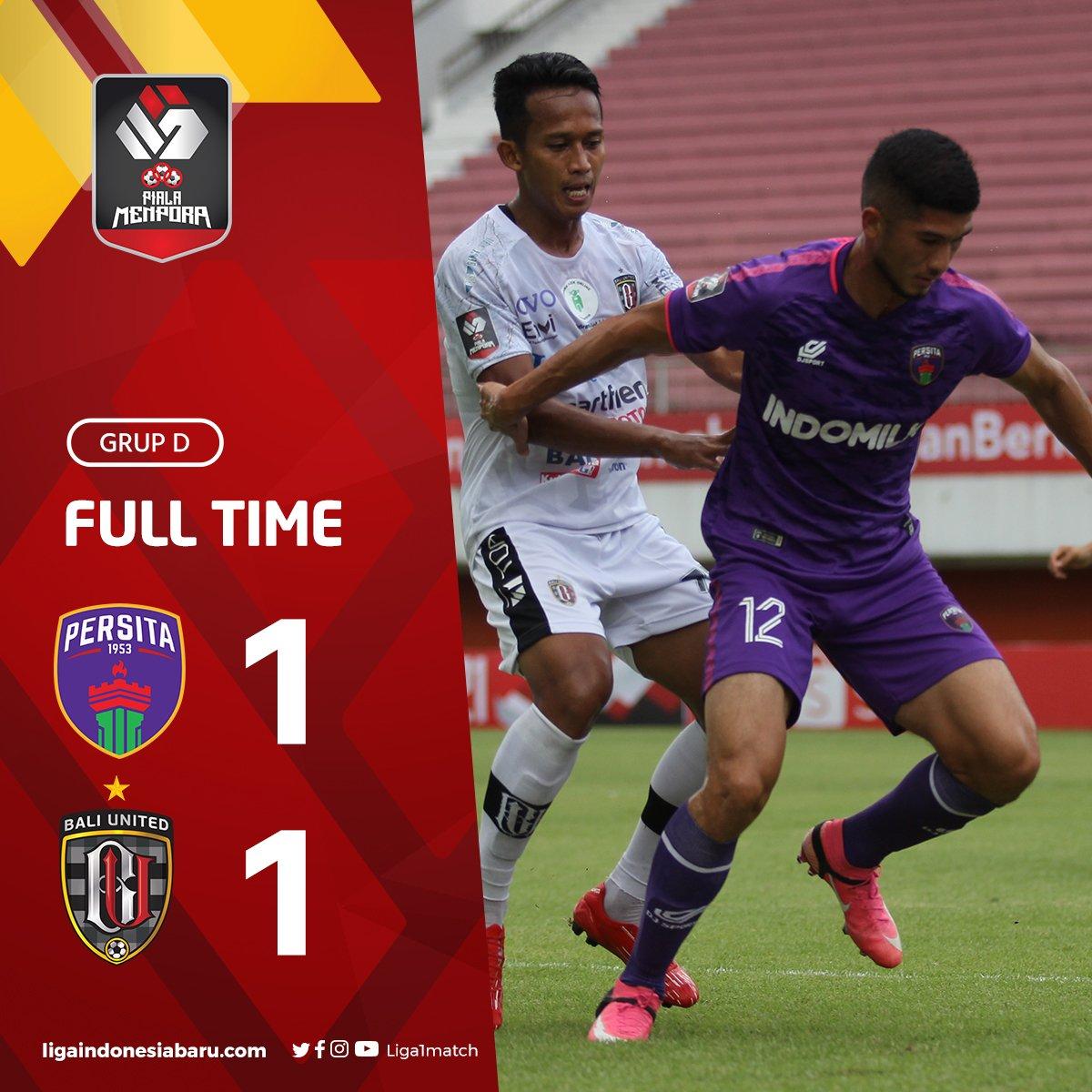 Hasil Persita 1-1 Bali United
