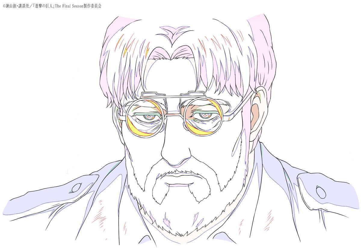 【放送情報】  TVアニメ『進撃の巨人』The Final Season 第73話「暴悪」ご視聴ありがとうございました!  「獣の巨人」の力を宿し、グリシャの息子でエレンの異母兄である ジーク・イェーガーの原画を公開。  引き続き、第74話「唯一の救い」もお楽しみに! #shingeki