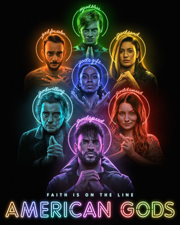 American Gods op Amazon Prime Video België poster