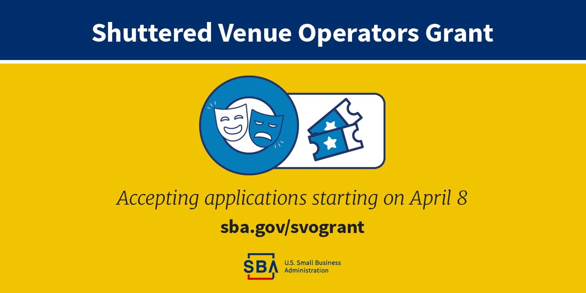 #FYI for #smallbiz that are eligible- the time is April 8th. Learn more about how to apply. https://t.co/1a2zlungpb