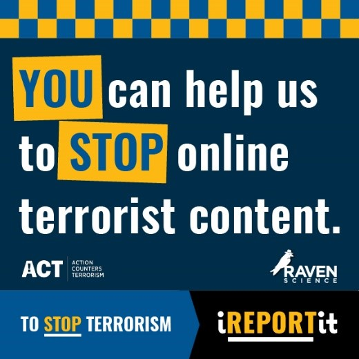 Anonymous. Fast. Effective. Download #iREPORTit – share disturbing or worrying content – specially trained officers review every referral. Together, we can stop terrorism. 📲Apple iOS: apps.apple.com/app/id15274564… 📲Android: play.google.com/store/apps/det…