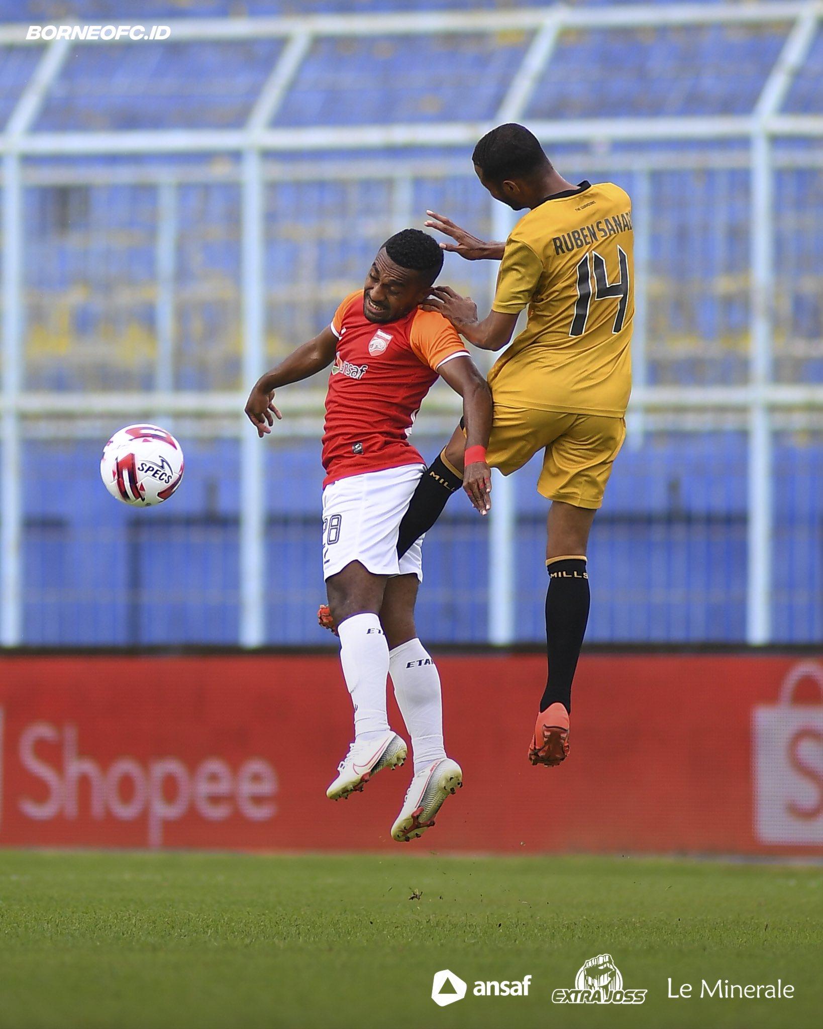 Duel Bhayangkara FC vs Borneo FC
