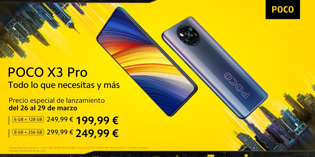 X3 Pro precio