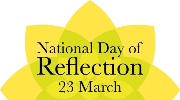 We are supporting the @mariecurieuk National Day of Reflection on Tuesday 23 March. A minute's silence will be held at 12noon to remember those who have died, show support for those who have been bereaved & hope for a brighter future. #DayOfReflection