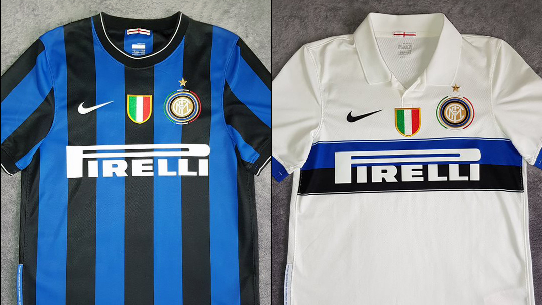 Inter 2009-10 Home and Away by Nike