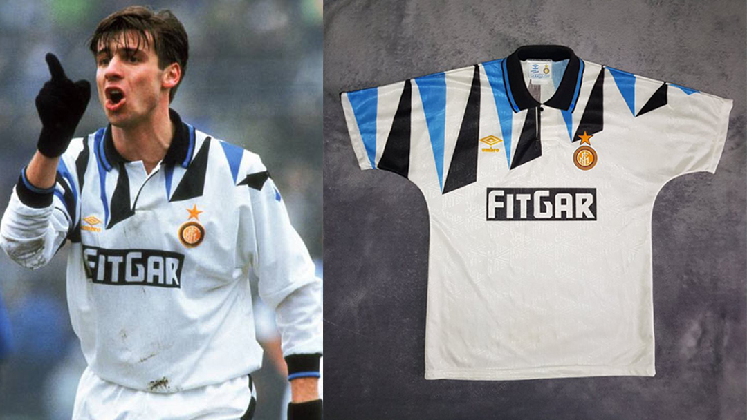 Inter 1991-92 Away by Umbro