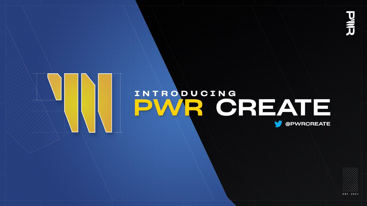 The PWR Fortnite Creative Twitter is LIVE!  👉 @PWRCreate   Follow to be updated on:  ⚡ New PWR map releases ⚡ Creative Events ⚡ Map updates/changes/bugs and polls https://t.co/qMGWavhwzL