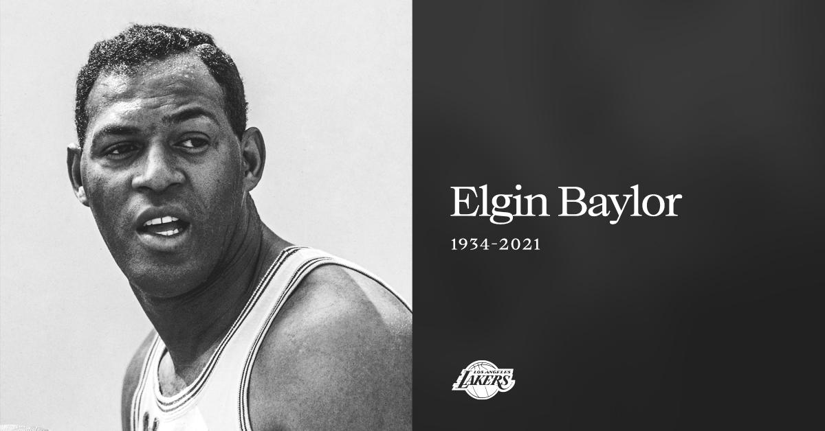 NBA in lutto, la Leggenda dei Lakers Elgin Baylor scompare a 86 anni