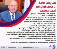 تصريحات هامة لكامل الوزير صدى البلد البلد