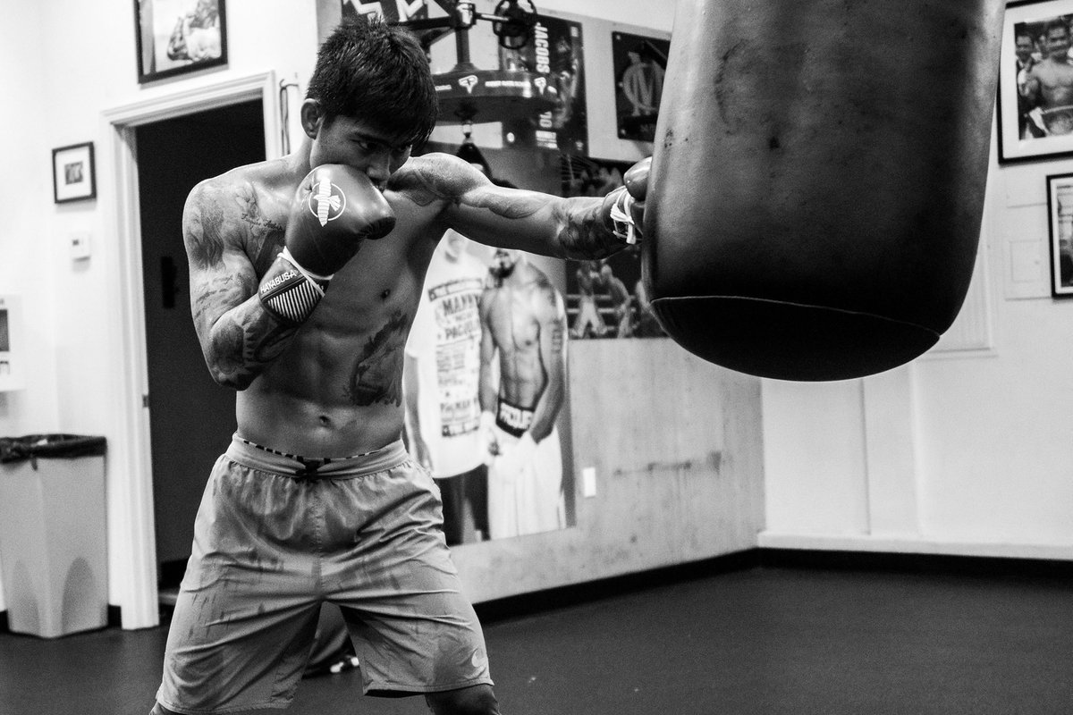 """April 10th Fight Date - Mark """"Magnifico"""" Magsayo @markmagsayo_MMM #TeamMagnifico @FreddieRoach @MannyPacquiao @KnuckleheadSean @WCBstore @TGBpromotions @premierboxing @ShowtimeBoxing #wildcardboxing #boxing #family #boxers #fighters #trainers #training #camp 📸 @OsoProduction https://t.co/pFd2l5EO20"""