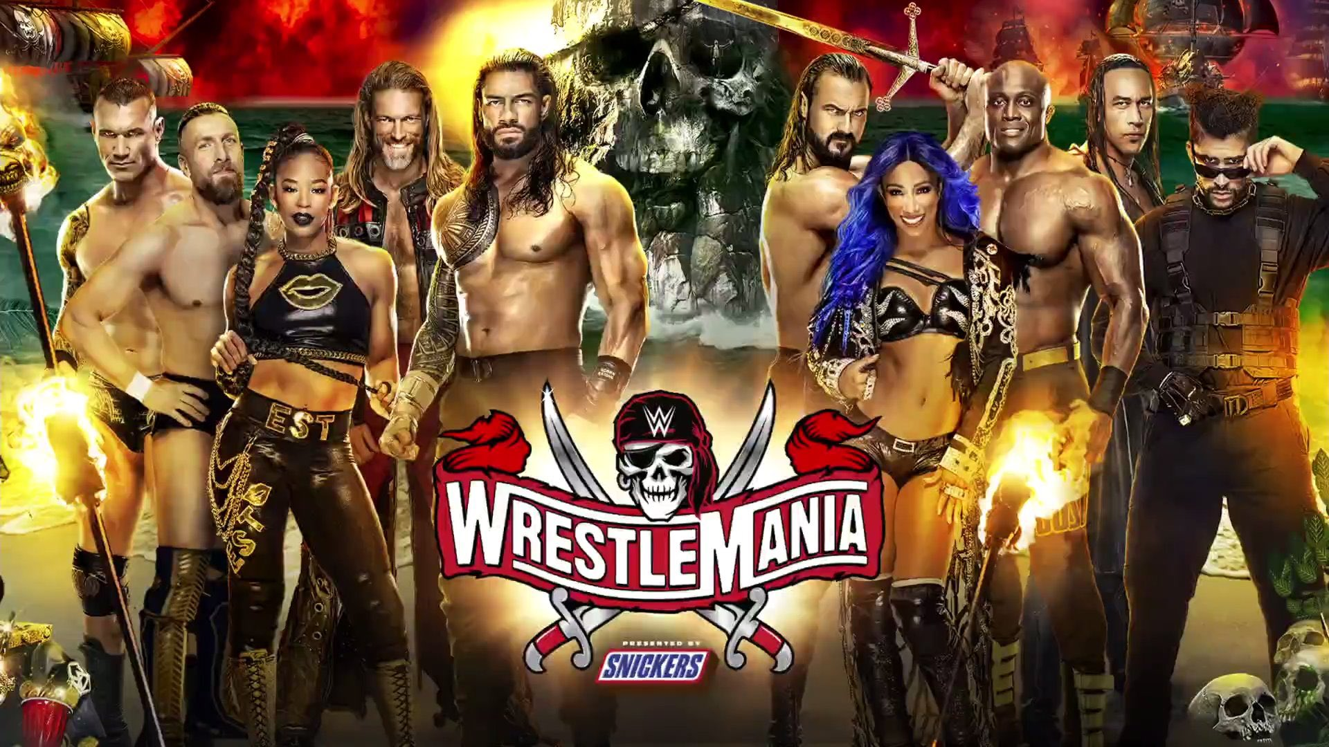 Seth Rollins Reacts To His Absence From WrestleMania 37 Poster