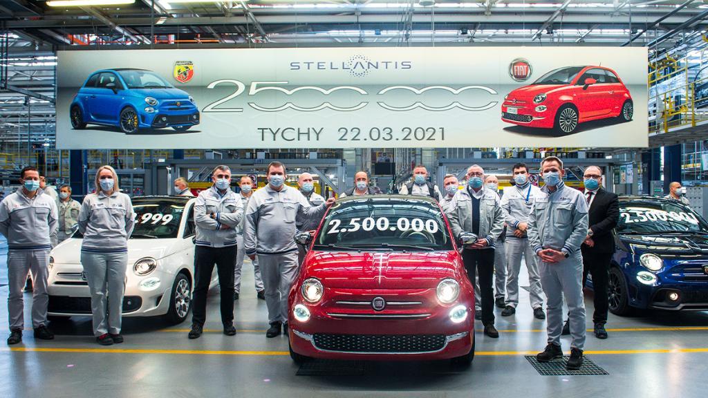 #Fiat #Fiat500 #Tychy #Poland