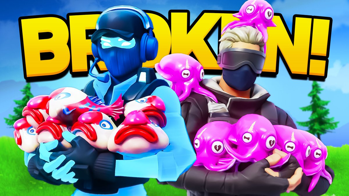 the most OP fish in fortnite...  Watch Here: https://t.co/2rJM5M8SJU https://t.co/EbcKx9Jhfc