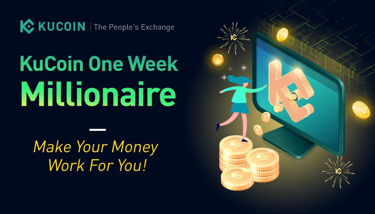 #OneWeekMillionaire