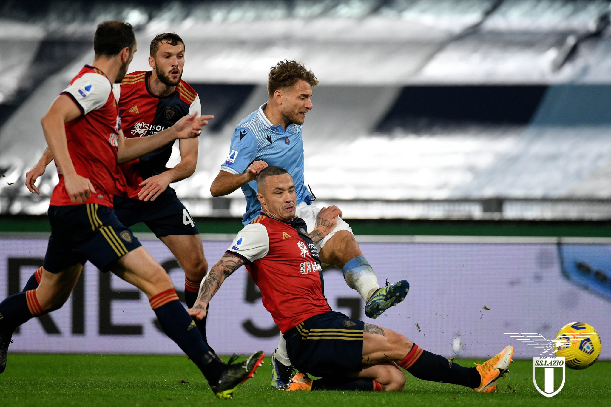 UCL: ITALIAN FOOTBALL IN SERIOUS TROUBLE