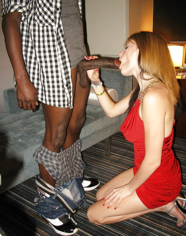 Sexy black girl fucks and sucks in a public bathroom