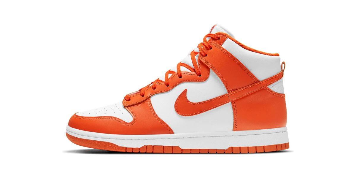 Kickz online raffle live for the Nike Dunk High Retro