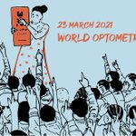 Image for the Tweet beginning: Happy World Optometry Day 2021: