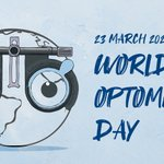 Image for the Tweet beginning: Happy World Optometry Day !