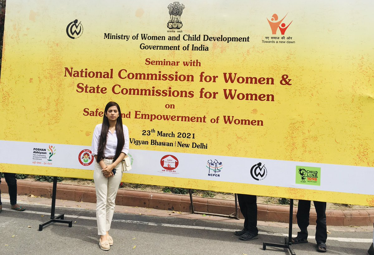 Ministry of Women and Child Development, Government of India 🇮🇳 Seminar with National Commission for Women & State Commission for Women, on Safe and Empowerment of Women.  #WomensHistoryMonth #internationalwomensday2021 #WomensDay #IWD2021