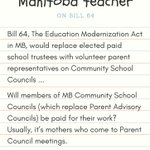 Image for the Tweet beginning: #MBpoli #Mbed #StopBill64 #HandsOffMBEd #mbteachers