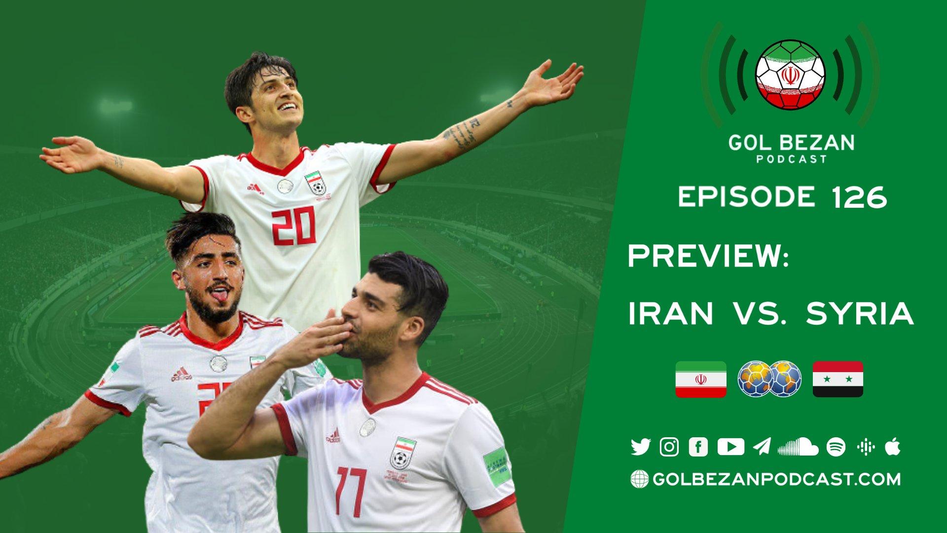 Preview Iran vs Syria