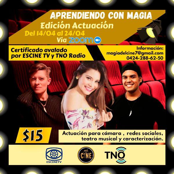 """Cresta Metalica Producciones on Twitter: """"Magia del Cine, TNO Radio y  ESCINETV invitan a las jornadas académicas de capacitación """"Aprendiendo con  Magia"""" > https://t.co/mLR1TqnSQK #NoticiasCresta #CrestaNoticias  #CrestaCultural #Noticias ..."""