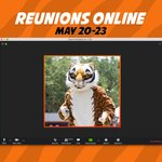 Image for the Tweet beginning: Reunions are Online! Put on