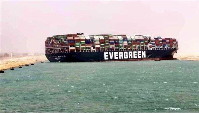 グリーン 座礁 エバー