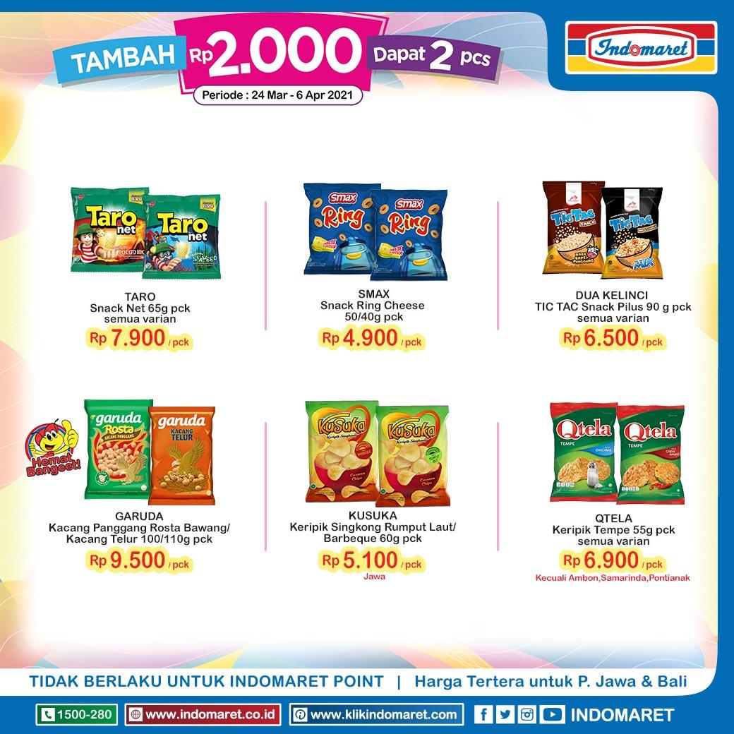 Promo Snack Murah Indomaret
