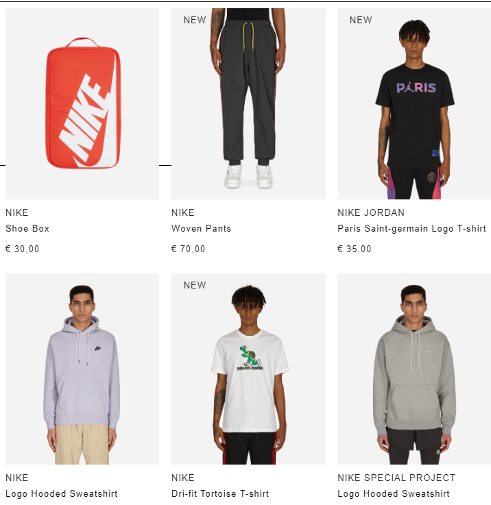 Ad: SlamJam Spring Sale - Save 25% on selected items with the code