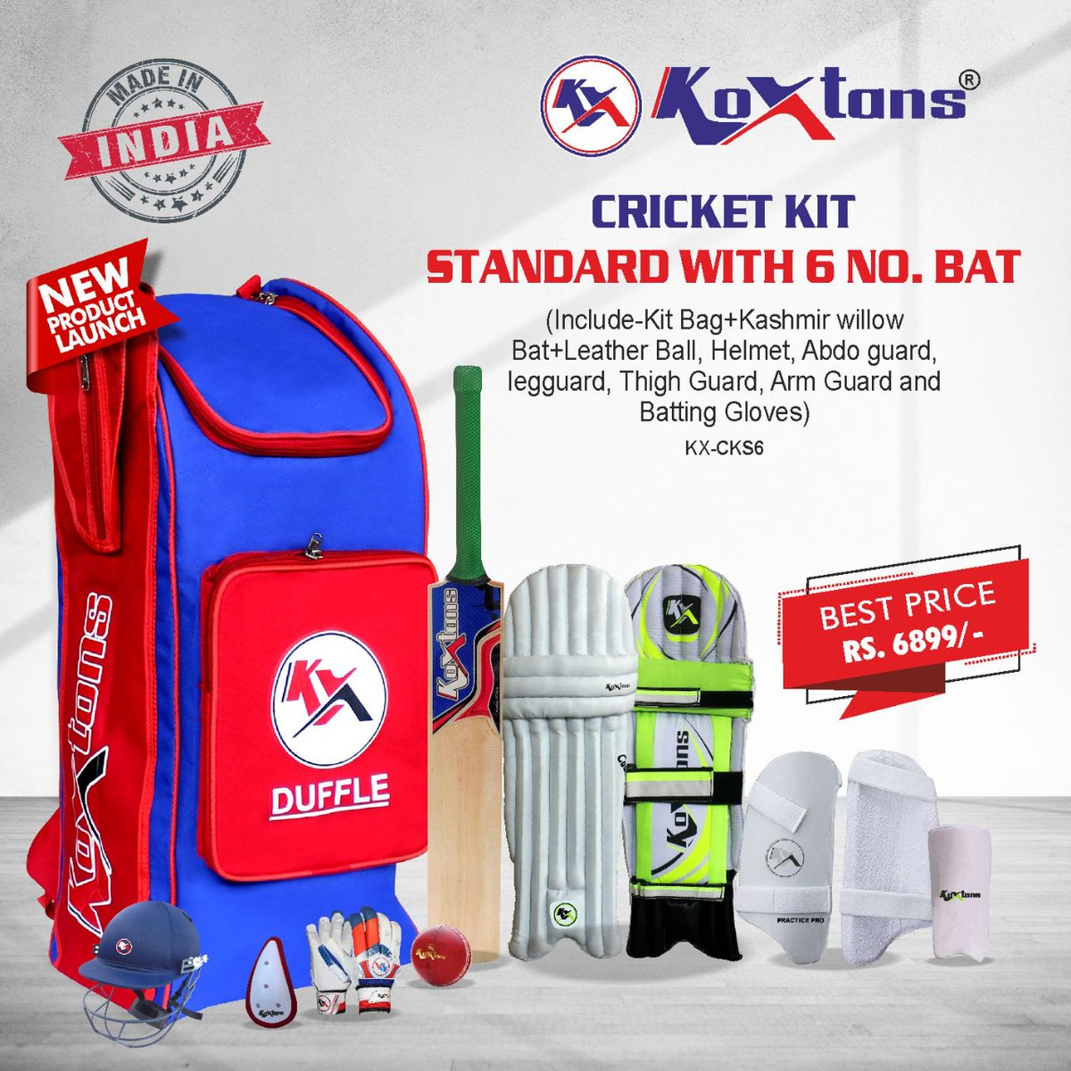 Newly Launched !Complete Cricket Kit. ✅Standard with 6 No. Bat  ✅Youth with 5 no. Bat  ✅Kids with 4 No. Bat made from selected Kashmir willow , Light in weight, Hand crafted for perfect balance. DM us on 9068811125  #cricketbats #cricketindia #indian #rohitsharma #viratkohli https://t.co/ZKQ0nZ8pQQ