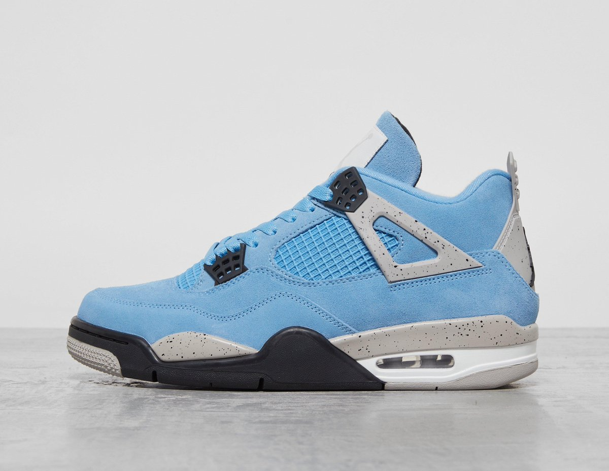 """Release update: The Air Jordan 4 Retro """"UNC"""" (CT8527-400) will already be dropping next Tuesday in Europe."""