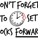 Image for the Tweet beginning: Spring Forward...Don't forget the clocks