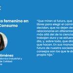 Image for the Tweet beginning: Isabel Jiménez, Ingeniera técnica industrial