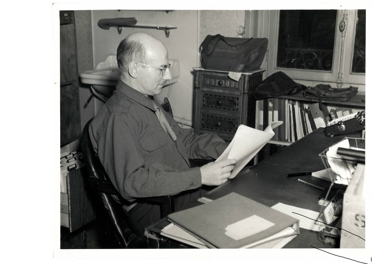 test Twitter Media - STP, DIAS : Celebrating Synge Week - 23-30 March 2021. Day Two: Synge spent a short time as ballistic mathematician in the US Air Force during 1944-45 https://t.co/bAzD9qriSa