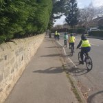 Image for the Tweet beginning: 5/6C enjoyed bikeability today! We