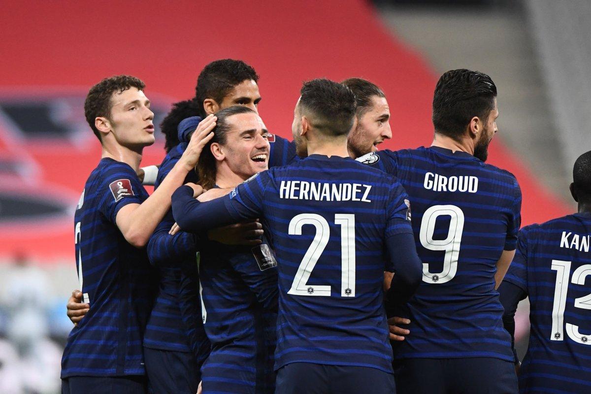ไฮไลท์ฟุตบอลโลกรอบ คัดเลือก ฝรั่งเศส - ยูเครน