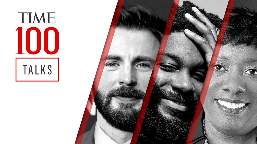 Join us for a live #TIME100Talks featuring @ChrisEvans, Jason Reynolds, and Becky Pringle on Friday, March 26 at 1:00 PM EDT. Register now: https://t.co/v9RNPGPcgX https://t.co/cHpjQKJHQe