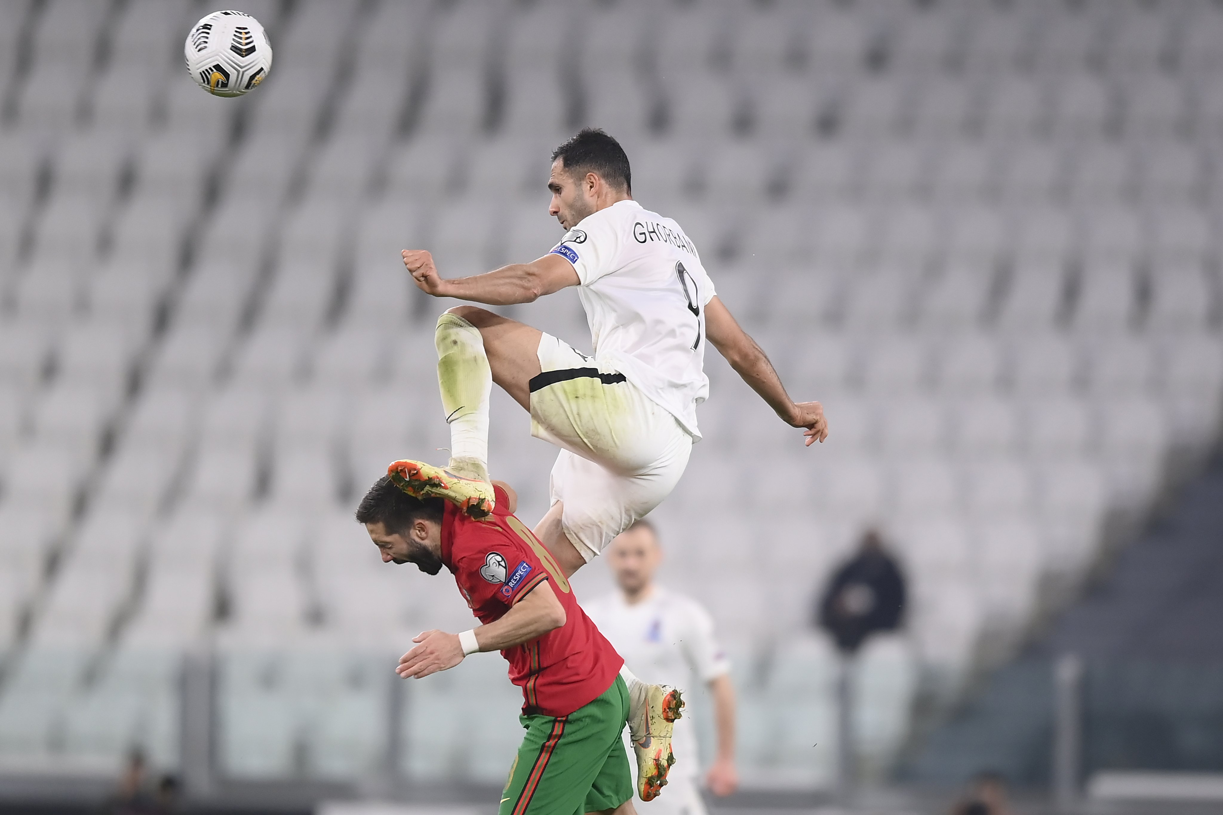 Medvedev's own goal the difference as Portugal beat Azerbaijan 1-0, open  their account