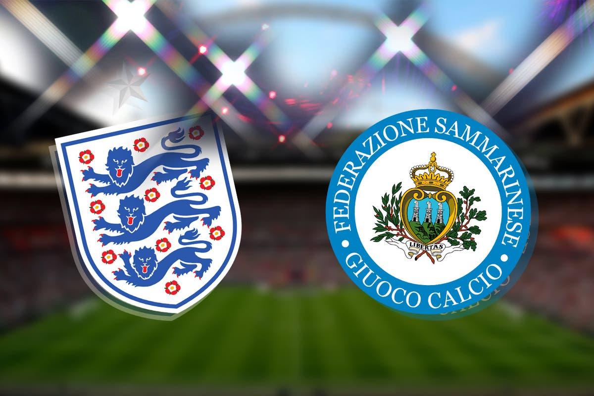 England vs San Marino Full Match – WC Qualification Europe