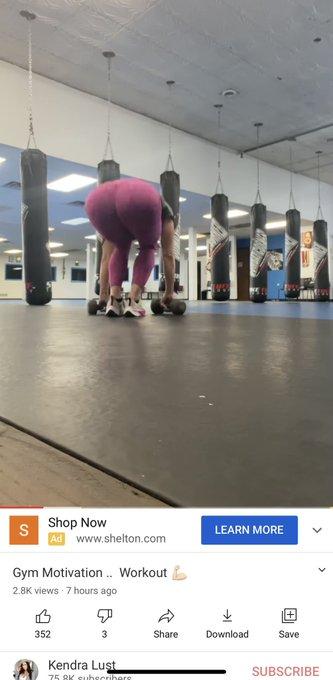 New workout video ..  https://t.co/93V0ErCWTt https://t.co/7wst43LSVW