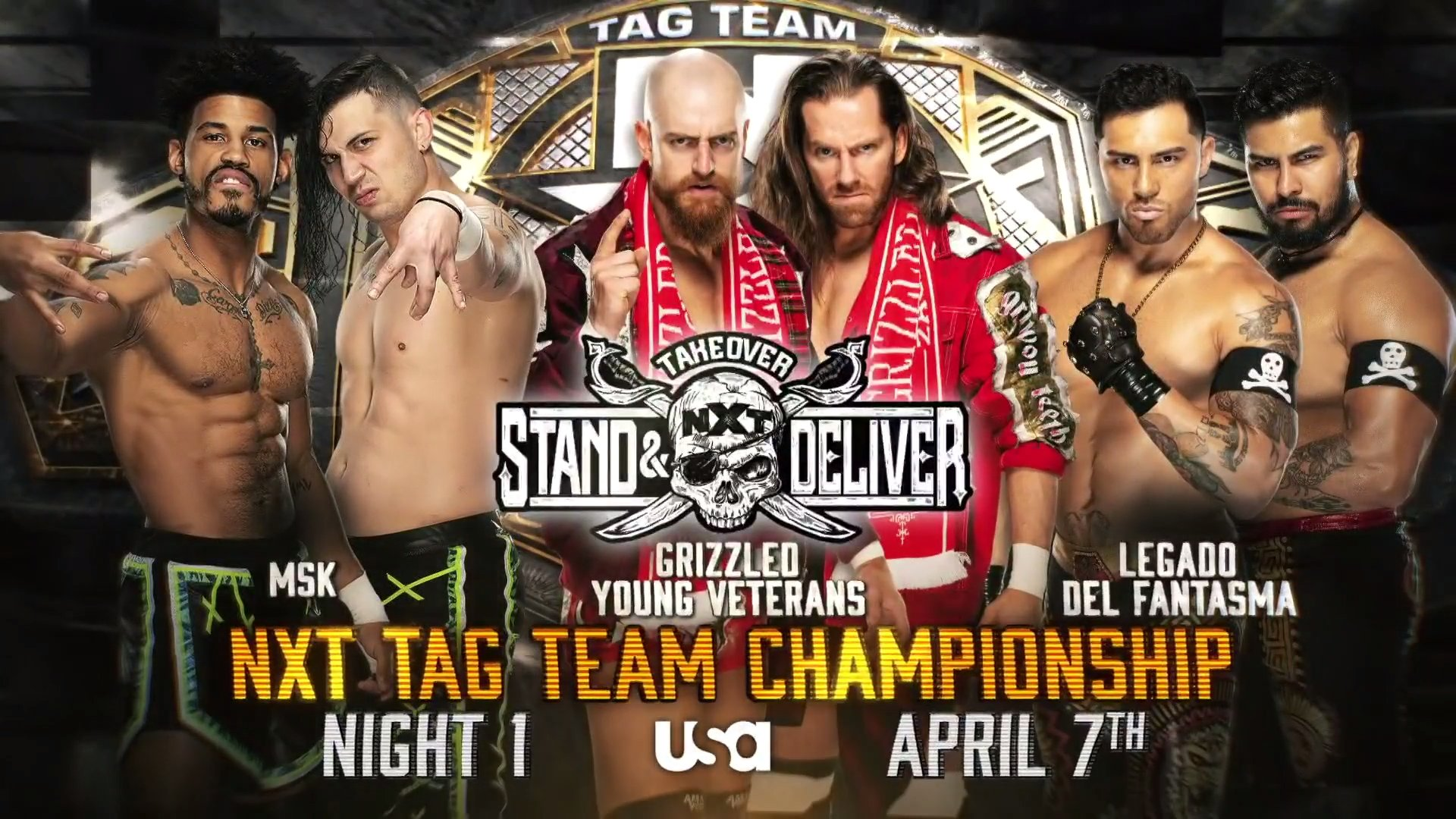 WWE NXT TakeOver Stand And Deliver 2021 Full Updated Match Card
