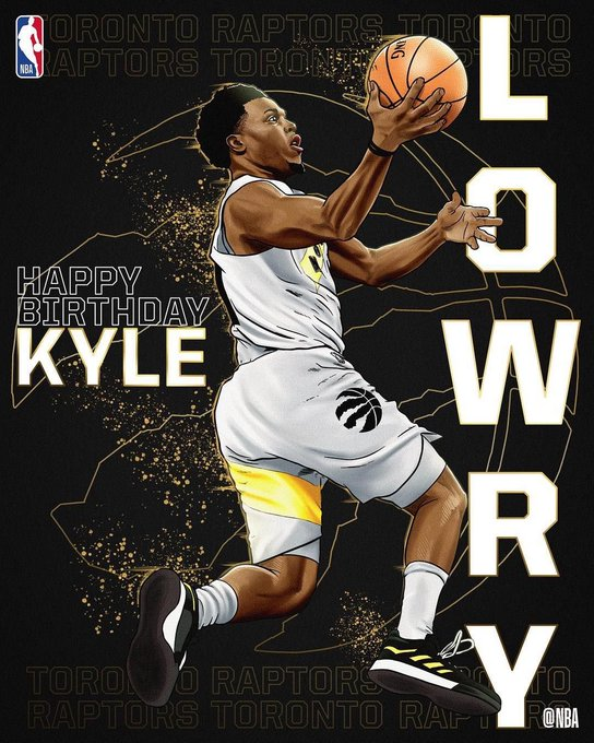 Happy birthday Kyle Lowry! Have a great day