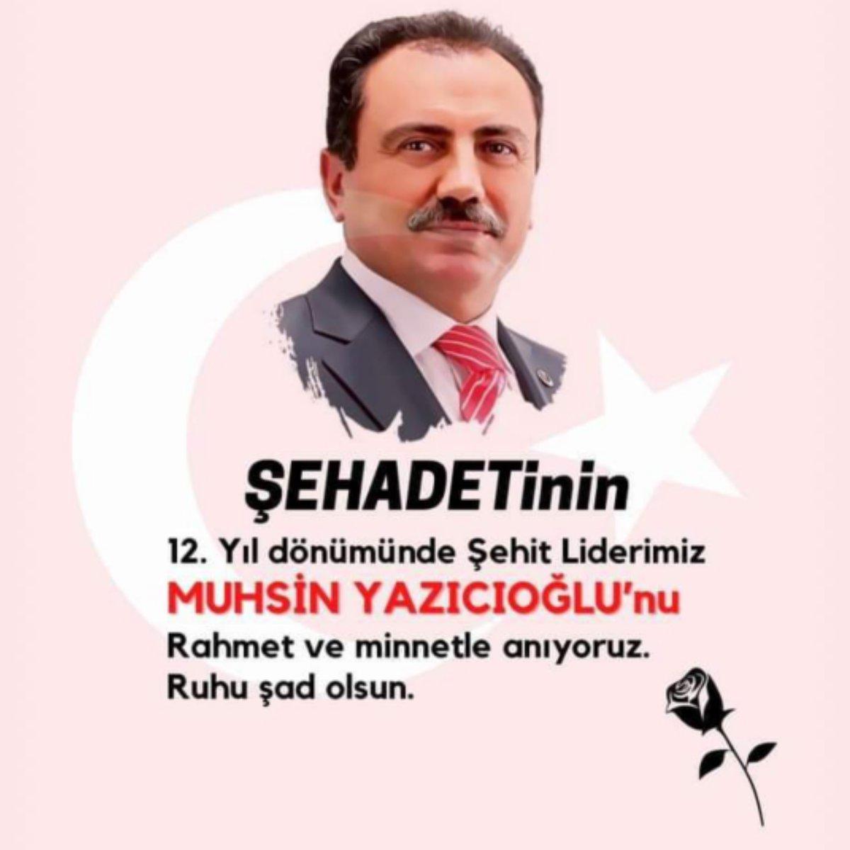 Muhsin Yazıcıoğlu on Twitter: