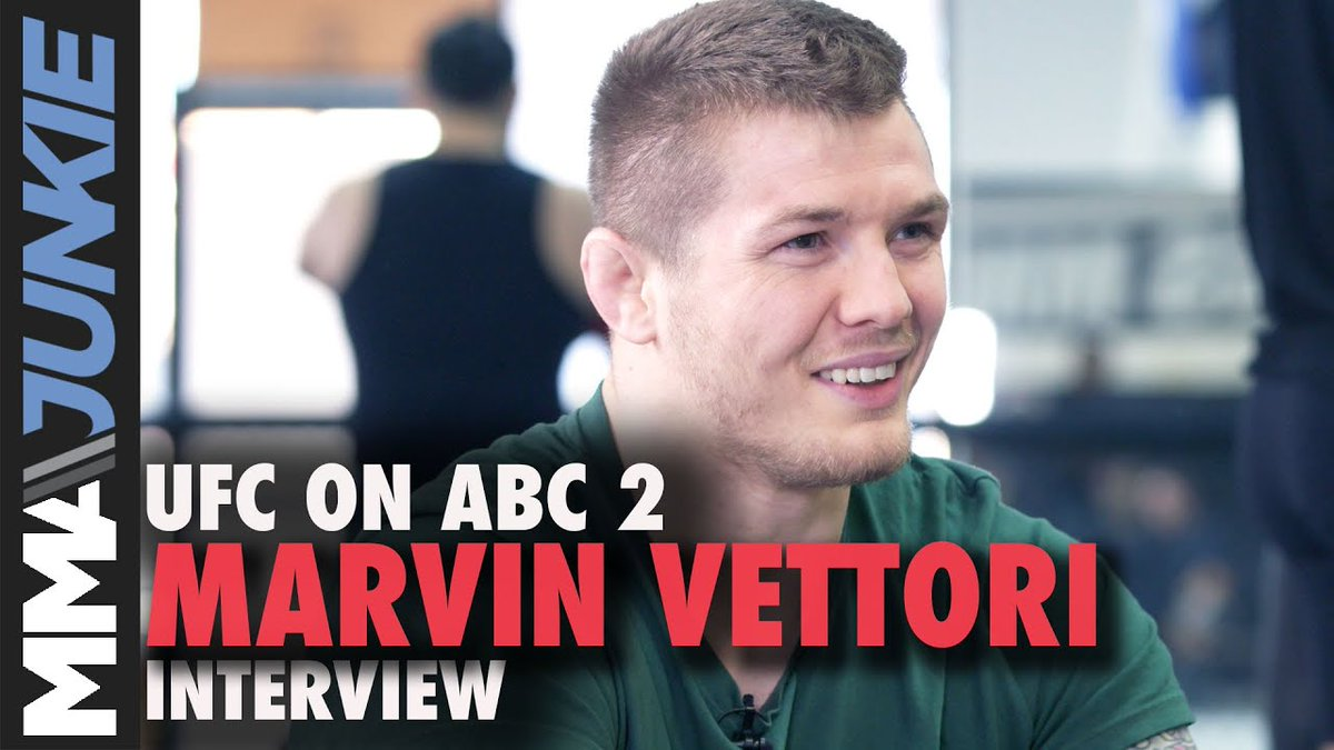 """.@MarvinVettori wants UFC gold in 2021. 🏆  """"I'm not scared of saying it and putting the pressure on me to prove it. Because I know it. I'm ready and I'm going to show it.""""  @MikeBohnMMA's interview: https://t.co/lMwzYSWoEk https://t.co/SnprD4OvAU"""