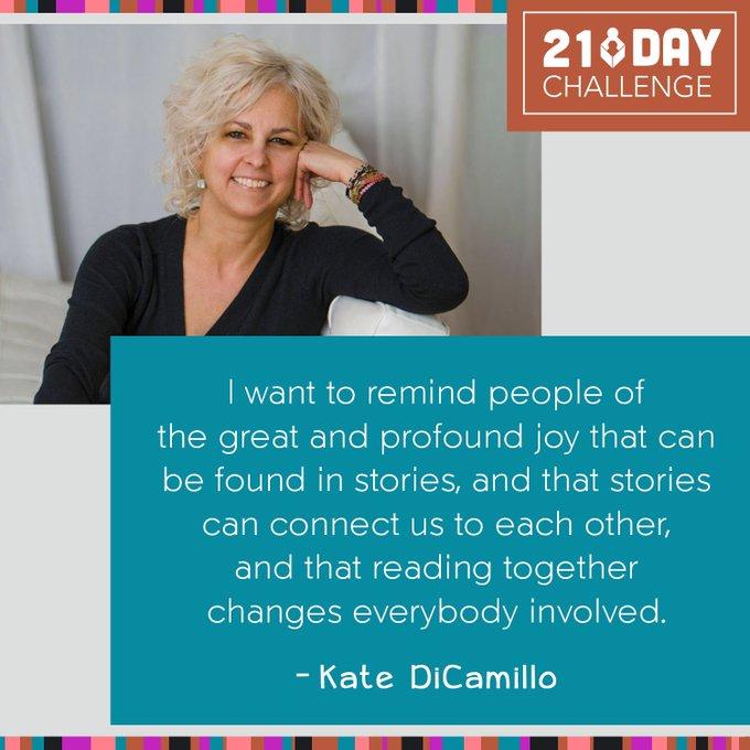 Happy Birthday, Kate DiCamillo!