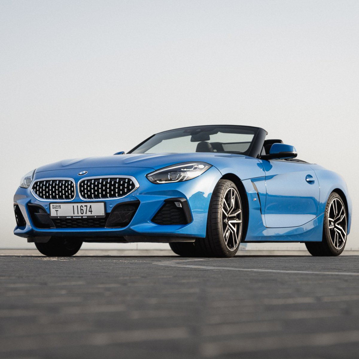 We're all set for open thrill adventures with 0.99% finance rate and first year free insurance and registration—are you?  #BMWZ4 #BMWAGMC