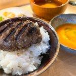 炭火焼きハンバーグと炊き立てご飯を食べたいならここ!渋谷駅から徒歩5分の「挽肉と米」